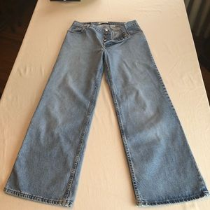 Vintage 90s Gap Super Wide Button Fly Mom Jeans